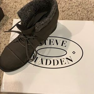 Madden Girl suede lined boots